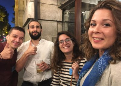 Afterwork intersites 2019